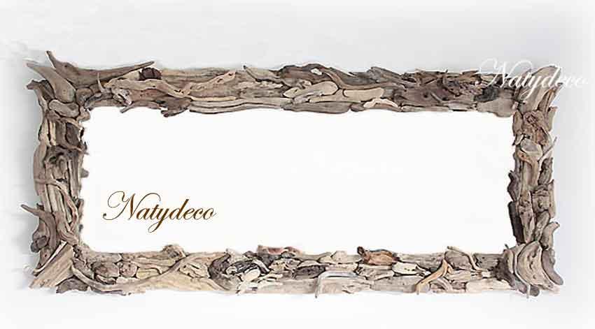 Miroir Bois Flotte Fabrication : Pin En Bois Flott? Fabrication Artisanale Natydeco Avec Le Dessus En