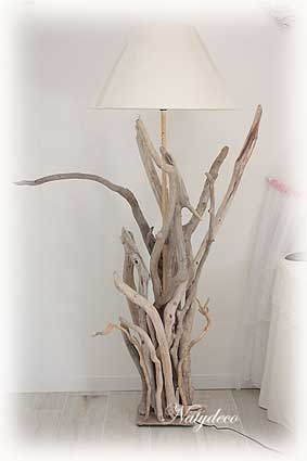 D co en bois flotte for Branche bois flotte decoration